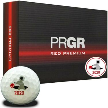 プロギア PRGR RED PREMIUM レッド プレミアム 2020年干支 ゴルフボール 1ダース(12球入り)
