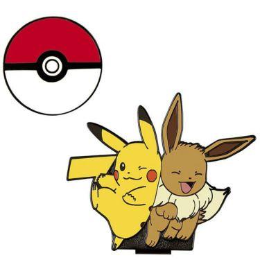 ポケモン Pokemon クリップマーカー ピカチュウ&イーブイ PMM002