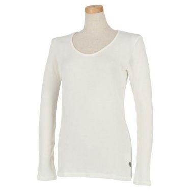 マンシングウェア Munsingwear レディース 裏起毛 長袖 Uネックシャツ LGA1002AG 商品詳細2