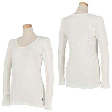 マンシングウェア Munsingwear レディース 裏起毛 長袖 Uネックシャツ LGA1002AG 商品詳細5