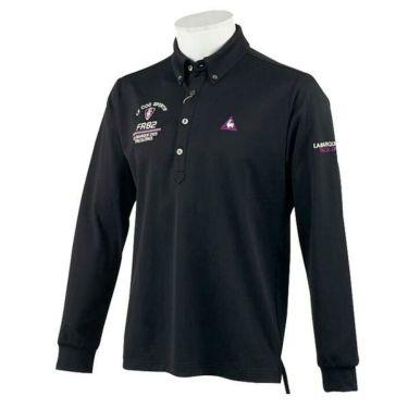 ルコック Le coq sportif メンズ ロゴ刺繍 長袖 ボタンダウン ポロシャツ QGMOJB00 2019年モデル 商品詳細2