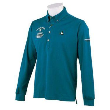 ルコック Le coq sportif メンズ ロゴ刺繍 長袖 ボタンダウン ポロシャツ QGMOJB00 2019年モデル 商品詳細3