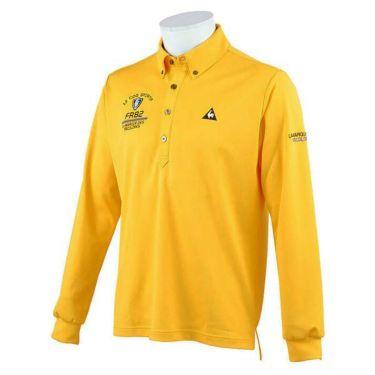 ルコック Le coq sportif メンズ ロゴ刺繍 長袖 ボタンダウン ポロシャツ QGMOJB00 2019年モデル 商品詳細6