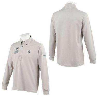ルコック Le coq sportif メンズ ロゴ刺繍 長袖 ボタンダウン ポロシャツ QGMOJB00 2019年モデル 商品詳細8