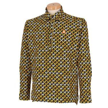 ルコック Le coq sportif メンズ タイポグラフィー柄 長袖 ボタンダウン ポロシャツ QGMOJB06 2019年モデル 商品詳細5