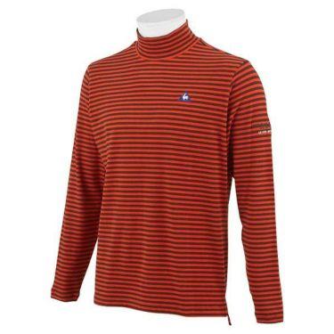 ルコック Le coq sportif メンズ ロゴ刺繍 ボーダー柄 長袖 ハイネックシャツ QGMOJB12 2019年モデル 商品詳細4