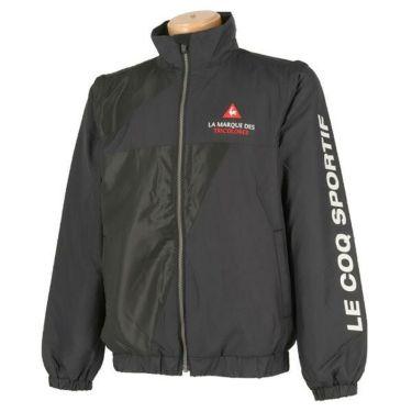 ルコック Le coq sportif メンズ ロゴ刺繍 中綿 2WAY ハイネック フルジップ ブルゾン QGMOJK04 2019年モデル 商品詳細3