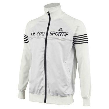 ルコック Le coq sportif メンズ シャドーボーダー 生地切替 撥水 長袖 フルジップ セーター QGMOJL04 2019年モデル 商品詳細4