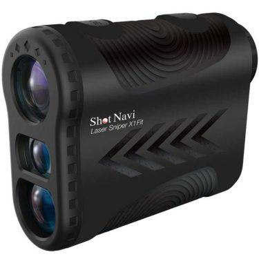 ショットナビ レーザー距離計 Laser Sniper X1 Fit レーザースナイパー X1 フィット ブラック