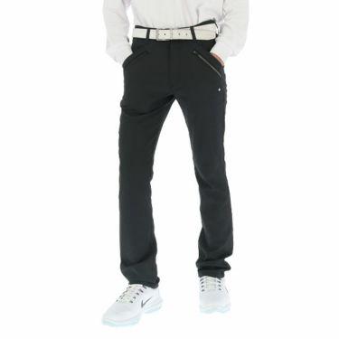 ルコック Le coq sportif メンズ ストレッチ テーパード ロングパンツ QGMOJD03 2019年モデル [裾上げ対応1●] ブラック(BK00)