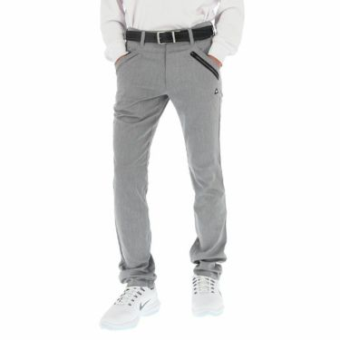ルコック Le coq sportif メンズ ストレッチ テーパード ロングパンツ QGMOJD03 2019年モデル [裾上げ対応1●] グレー(GY00)