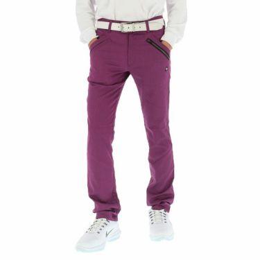 ルコック Le coq sportif メンズ ストレッチ テーパード ロングパンツ QGMOJD03 2019年モデル [裾上げ対応1●] パープル(PP00)
