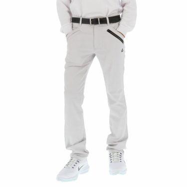 ルコック Le coq sportif メンズ ストレッチ テーパード ロングパンツ QGMOJD03 2019年モデル [裾上げ対応1●] ホワイト(WH00)
