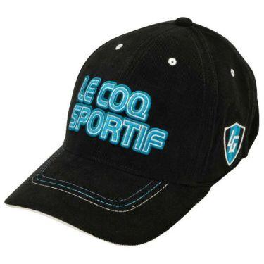 ルコック Le coq sportif コーデュロイ ロゴ刺繍 メンズ キャップ QGBOJC01 BK00 ブラック 商品詳細2