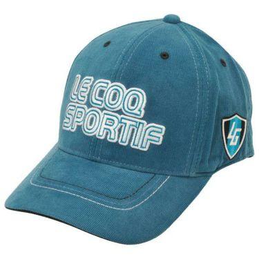 ルコック Le coq sportif コーデュロイ ロゴ刺繍 メンズ キャップ QGBOJC01 BL00 ブルー 商品詳細2