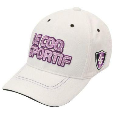 ルコック Le coq sportif コーデュロイ ロゴ刺繍 メンズ キャップ QGBOJC01 WH00 ホワイト 商品詳細2