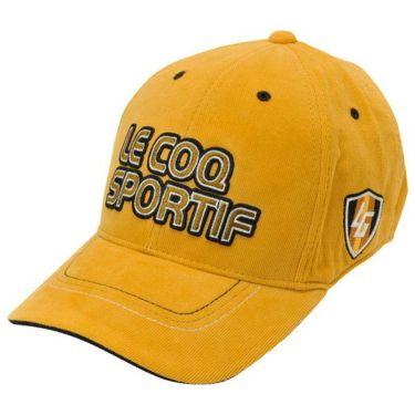 ルコック Le coq sportif コーデュロイ ロゴ刺繍 メンズ キャップ QGBOJC01 YL00 イエロー 商品詳細2