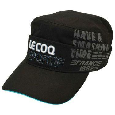 ルコック Le coq sportif コットンツイル 2WAY ドゴール メンズ キャップ QGBOJC02 BK00 ブラック