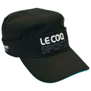 ルコック Le coq sportif コットンツイル 2WAY ドゴール メンズ キャップ QGBOJC02 BK00 ブラック 商品詳細2