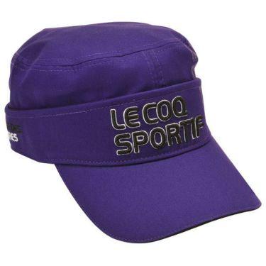 ルコック Le coq sportif コットンツイル 2WAY ドゴール メンズ キャップ QGBOJC02 PP00 パープル 商品詳細2