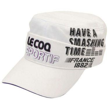 ルコック Le coq sportif コットンツイル 2WAY ドゴール メンズ キャップ QGBOJC02 WH00 ホワイト