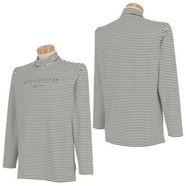マンシングウェア Munsingwear メンズ ボーダー柄 ロゴプリント 長袖 ハイネックシャツ MGMOJB09 2019年モデル 商品詳細6