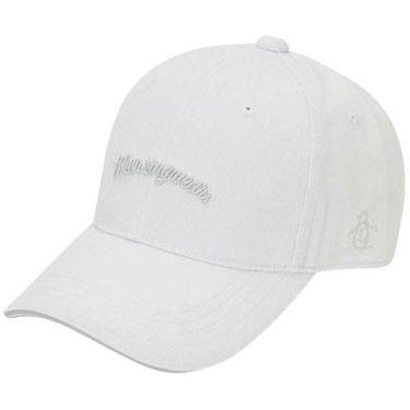 マンシングウェア Munsingwear メンズ ロゴ刺繍 キャップ MGBOJC02 WH00 ホワイト