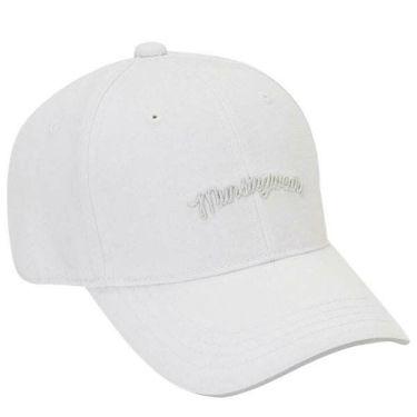 マンシングウェア Munsingwear メンズ ロゴ刺繍 キャップ MGBOJC02 WH00 ホワイト 商品詳細2