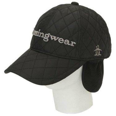 マンシングウェア Munsingwear メンズ 耳当て付き 中綿 キルティング キャップ MGBOJC20 BK00 ブラック