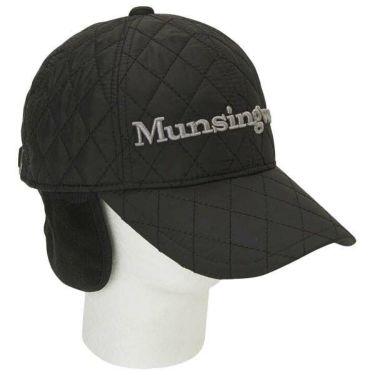 マンシングウェア Munsingwear メンズ 耳当て付き 中綿 キルティング キャップ MGBOJC20 BK00 ブラック 商品詳細2