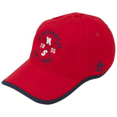マンシングウェア Munsingwear レディース ロゴ刺繍 ウェーブカット キャップ MGCOJC01 RD00 レッド