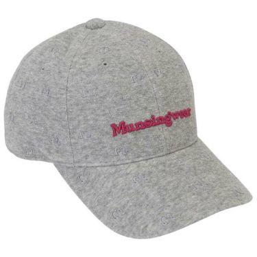 マンシングウェア Munsingwear レディース フラミンゴ柄 パイルキャップ MGCOJC02 GY00 グレー 商品詳細2