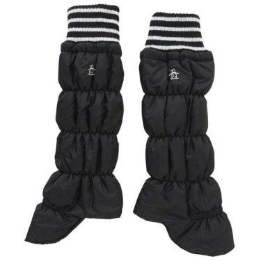 マンシングウェア Munsingwear レディース 中綿 キルト レッグウォーマー MGCOJX82 BK00 ブラック