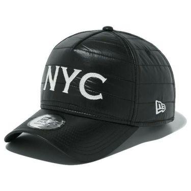 ニューエラ NEW ERA キャップ 9FORTY A-Frame シャイニータフタ NYC ロゴ 12108682 ブラック 2019年モデル