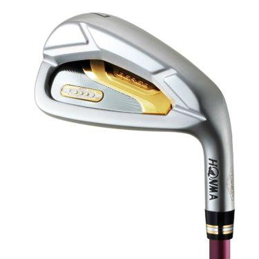 本間ゴルフ BERES ベレス レディース アイアン 4本セット(#7~10) 3Sグレード ARMRQ 38 3S カーボンシャフト 2019年モデル