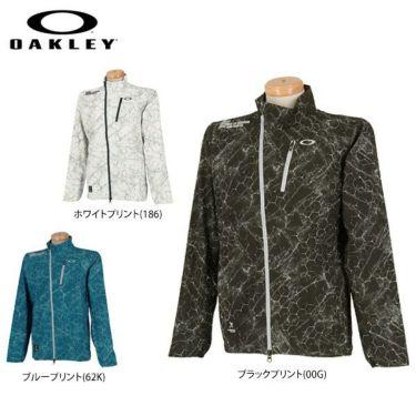 オークリー OAKLEY メンズ SKULL 撥水 ストレッチ 総柄プリント 長袖 ジャケット 412846JP 2019年モデル