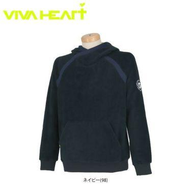 ビバハート VIVA HEART メンズ マイクロフリース 長袖 パーカー 011-51012