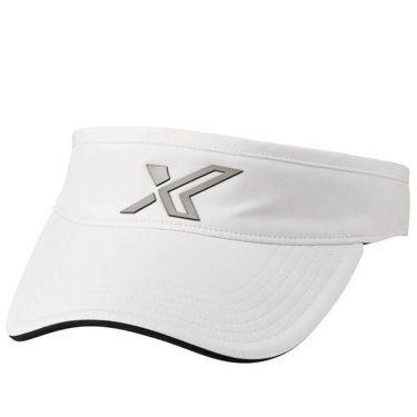 ダンロップ ゼクシオ XXIO メンズ ロゴ バイザー XMH0305L ホワイト