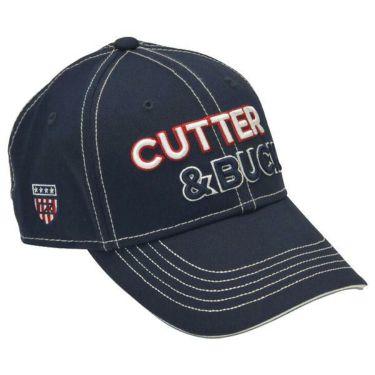 カッター&バック CUTTER&BUCK メンズ 立体ロゴ刺繍 キャップ CGBOJC02 NV00 ネイビー