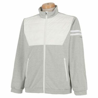 ブリヂストンゴルフ TOUR B メンズ タフタ切替 防風 長袖 フルジップ ブルゾン 6GQ02D 2019年モデル ホワイト(WH)