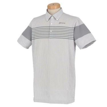 スリクソン SRIXON メンズ ボーダー×ストライプ柄 半袖 ボタンダウン ポロシャツ RGMOJA01 2019年モデル 商品詳細3