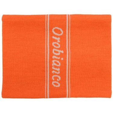 オロビアンコ  Orobianco ユニセックス 裏フリース ニット ネックウォーマー 45301-114 20 オレンジ