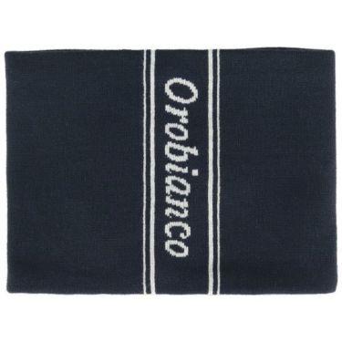 オロビアンコ  Orobianco ユニセックス 裏フリース ニット ネックウォーマー 45301-114 59 ネイビー