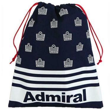 アドミラル Admiral ユニセックス ロゴプリント マルチ巾着 ADMZ0ST9 30 ネイビー