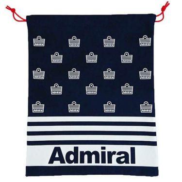アドミラル Admiral ユニセックス ロゴプリント マルチ巾着 ADMZ0ST9 30 ネイビー 商品詳細2