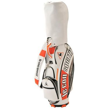 ルコック Le coq sportif メンズ キャディバッグ QQBPJJ04 WHOR ホワイト×オレンジ