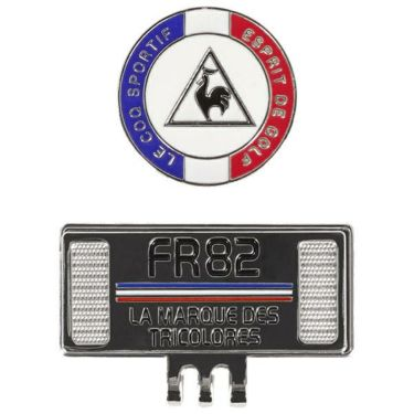ルコック Le coq sportif メンズ クリップマーカー QQBPJX51 RD00 レッド
