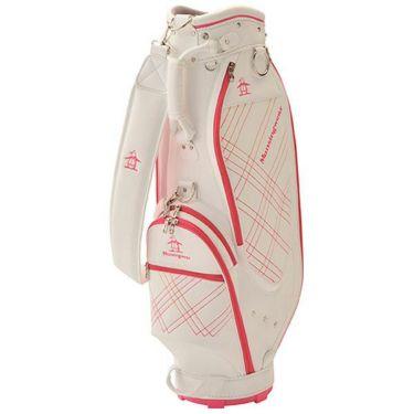 マンシングウェア Munsingwear レディース 軽量 キャディバッグ MQCPJJ03 WHPK ホワイト×ピンク