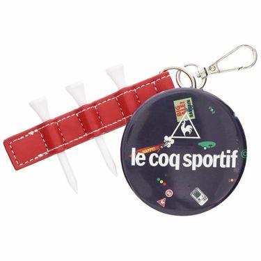 ルコック Le coq sportif レディース ティー付き ミラーチャーム QQCPJX05 NV00 ネイビー 2020年モデル ネイビー(NV00)