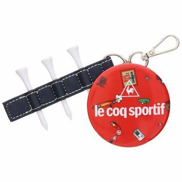 ルコック Le coq sportif レディース ティー付き ミラーチャーム QQCPJX05 RD00 レッド